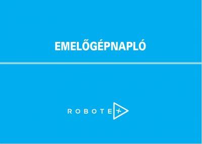 emelőgépnapló robotex a5